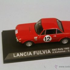 Coches a escala: IXO ALTAYA. ESCALA 1/43. LANCIA FULVIA #8 RAC RALLY 1969 KALLSTROM-HAGGBOM. Lote 41464753