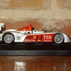 Carros em escala: COCHE DE METAL AUDI R10-2006,FRANK BIELA(D) EMANUELE PIRRO(I)MARCO WERNER,24 HORAS LE MANS.. Lote 41609782