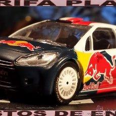 Coches a escala: CITROEN DS3 WRC MODIFICADAS LAS RUEDAS ESCALA 1:43 DE MONDOMOTORS EN CAJA NO ORIGINAL. Lote 41691124