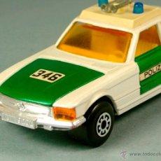 Coches a escala: MERCEDES BENZ 350 SLC POLIZEI POLICIA ALEMANIA - 1974 MATCHBOX K-61 LESNEY 1/43 - MADE ENGLAND. Lote 41770287