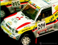"Vitesse Mitsubishi Pajero /""Off Road Express/"" Winner Paris-Dakar 1998 1:43 #206"