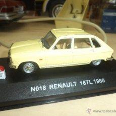 Coches a escala: RENAULT 16 TL 1.966. Lote 42464449