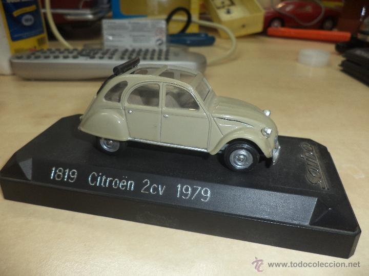 Coches a escala: Citroen 2 CV de 1979 SOLIDO France - Foto 1 - 42527527