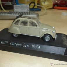 Coches a escala: CITROEN 2 CV DE 1979 SOLIDO FRANCE. Lote 42527527