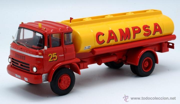 Coches a escala: Camión Barreiros Super Azor Campsa Modeltrans Ref 228 Edición limitada nº 58/300 1/43 - Foto 3 - 42956583