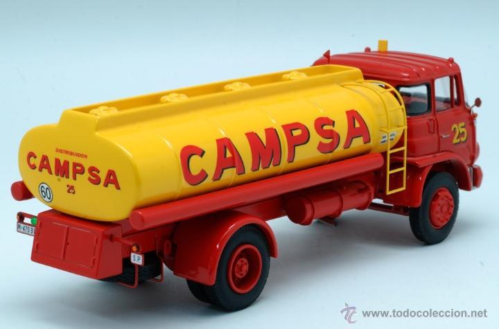 Coches a escala: Camión Barreiros Super Azor Campsa Modeltrans Ref 228 Edición limitada nº 58/300 1/43 - Foto 5 - 42956583