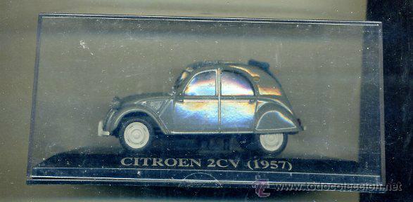 ALTAYA - CITROEN 2 CV 1957 - DESCAPOTABLE - COCHE AUTOMOVIL FRANCIA - MATRICULA DE VALLADOLID (Juguetes - Coches a Escala 1:43 Otras Marcas)