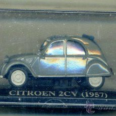 Coches a escala: ALTAYA - CITROEN 2 CV 1957 - DESCAPOTABLE - COCHE AUTOMOVIL FRANCIA - MATRICULA DE VALLADOLID. Lote 106104055
