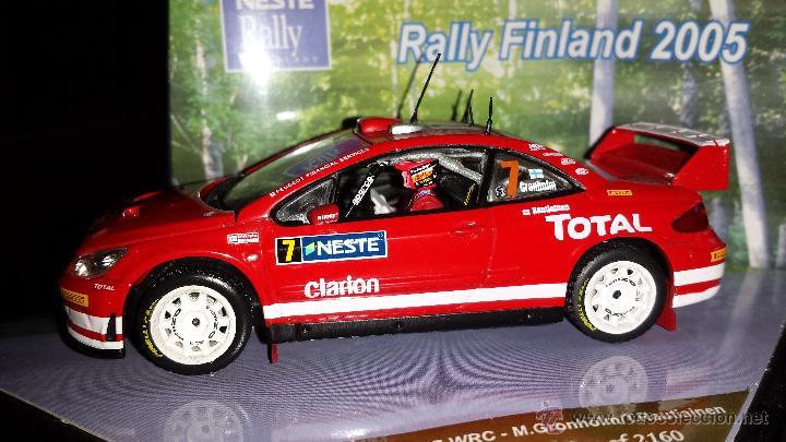 Coches a escala: PEUGEOT 307 WRC RALLYE DE finlandia 2005 m.gronholm -t.rautiainen ESCALA 1:43 de vitesse EN CAJA - Foto 2 - 45158611