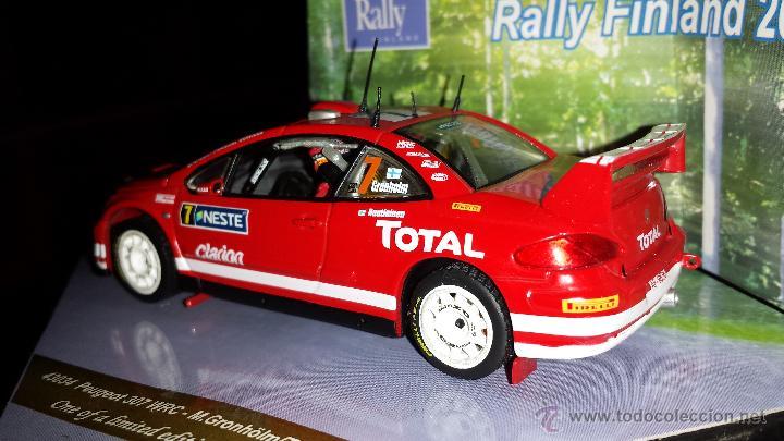 Coches a escala: PEUGEOT 307 WRC RALLYE DE finlandia 2005 m.gronholm -t.rautiainen ESCALA 1:43 de vitesse EN CAJA - Foto 3 - 45158611