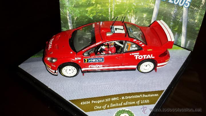 Coches a escala: PEUGEOT 307 WRC RALLYE DE finlandia 2005 m.gronholm -t.rautiainen ESCALA 1:43 de vitesse EN CAJA - Foto 4 - 45158611