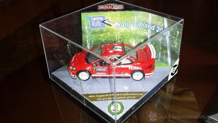 Coches a escala: PEUGEOT 307 WRC RALLYE DE finlandia 2005 m.gronholm -t.rautiainen ESCALA 1:43 de vitesse EN CAJA - Foto 5 - 45158611