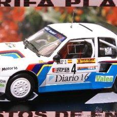 Model Cars - PEUGEOT 205 TURBO 16 RALLYE RACE 1985 ZANINI ESCALA 1:43 ALTAYA EN CAJA - 45788682