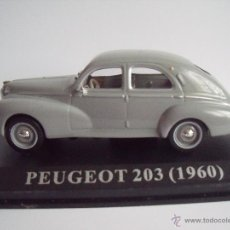 Coches a escala: PEUGEOT 203 1/43 ALTAYA (1960). Lote 46123581