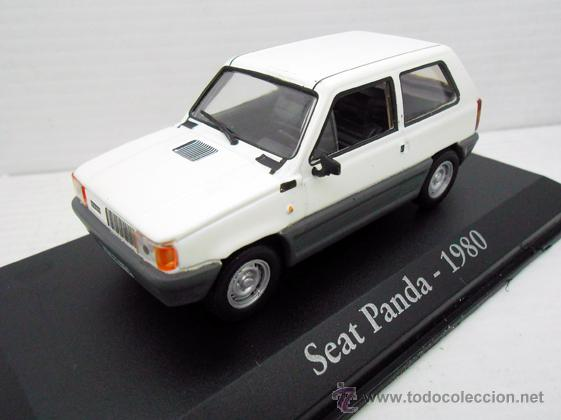 COCHE SEAT PANDA 1980 RBA ESCALA 1/43 1:43 FIAT METAL MODEL CAR MINIATURA ALFREEDOM (Juguetes - Coches a Escala 1:43 Otras Marcas)