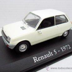 Coches a escala: COCHE RENAULT 5 1972 BLANCO RBA ESCALA 1/43 1:43 FIAT METAL MODEL CAR MINIATURA ALFREEDOM. Lote 173407474
