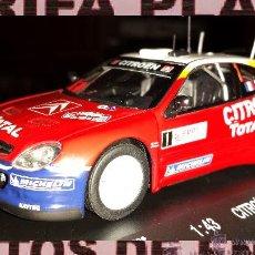 Coches a escala: CITROEN XSARA WRC RALLYE DE MONTECARLO 2005 LOEB ESCALA 1:43 DE HIGH SPEED EN SU CAJA. Lote 46199485