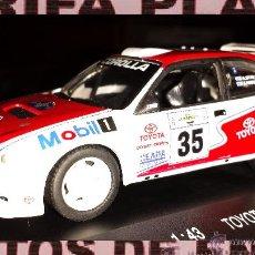 Coches a escala: TOYOTA COROLLA WRC RALLYE ACROPOLIS A.ZIVAS - S.FAKALIS ESCALA 1:43 DE HIGH SPEED EN CAJA. Lote 46199588