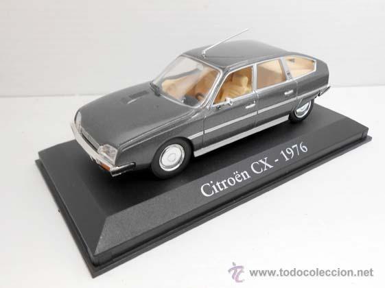 COCHE CITROEN CX GRIS RBA METAL MODEL CAR 1/43 1:43 MINIATURA ALFREEDOM (Juguetes - Coches a Escala 1:43 Otras Marcas)