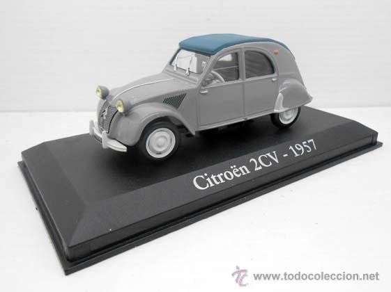 COCHE CITROEN 2CV DOS CABALLOS DYANE RBA METAL MODEL CAR 1/43 1:43 MINIATURA ALFREEDOM (Juguetes - Coches a Escala 1:43 Otras Marcas)