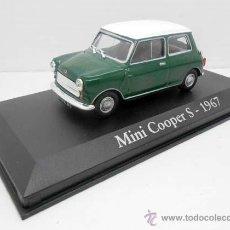 Coches a escala: COCHE MINI COOPER S VERDE TECHO BLANCO RBA METAL MODEL CAR 1/43 1:43 MINIATURA ALFREEDOM. Lote 168902337
