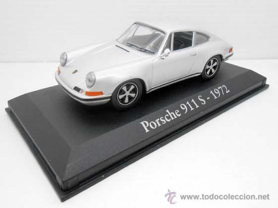 COCHE PORSCHE 911 S CARRERA 1972 RBA METAL MODEL CAR 1/43 1:43 MINIATURA ALFREEDOM (Juguetes - Coches a Escala 1:43 Otras Marcas)
