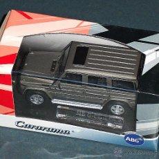 Auto in scala: COCHE MERCEDES G - CARARAMA 1/43. Lote 47041149