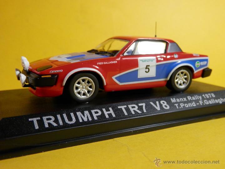 TRIUMPH TR7 V8 MANX RALLYE 1978 T POND Y F GALLAGHER ALTAYA 1/43--LUGOY