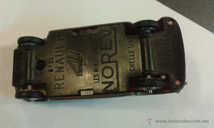 Coches a escala: Nº 53 Renault 4 L Norev 1/43 - Foto 2 - 47802489
