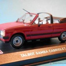 Coches a escala: TALBOT SAMBA CABRIOT ALTAYA 1/43 --LUGOY. Lote 47905634