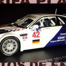 Coches a escala: BMW M3 GTR V8 JJ.LEHTO - ALMS 2001 DE MINICHAMPS EN CAJA. Lote 47982910