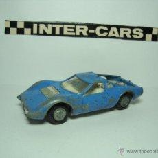 Coches a escala: FERRARI DINO DE INTERCARS NACORAL INTER CARS 1,43. Lote 48523413