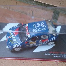 coche colección Nuestros campeones de Rallyes, Peugeot 306 Maxi