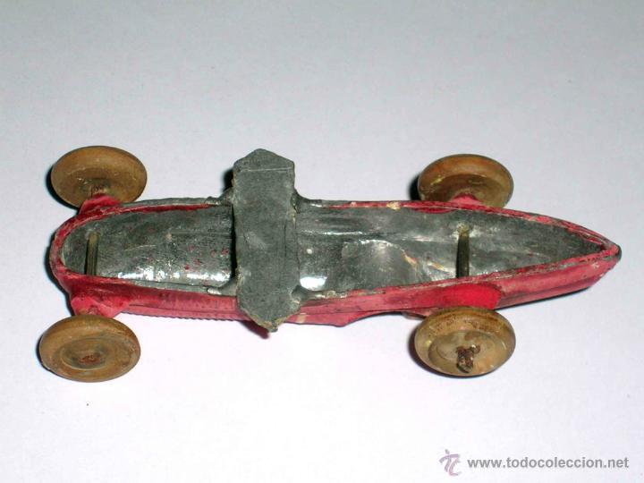 Coches a escala: Coche Carreras Grand Prix F-1, fabricado en plomo, 1/43, Pre Dinky, Casanelles Barcelona, años 30. - Foto 8 - 48860492