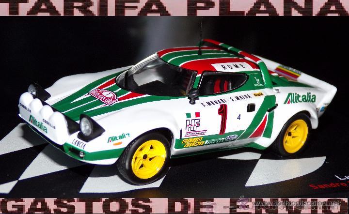 lancia stratos rallye monte carlo 1977 s.munari - kaufen modellautos