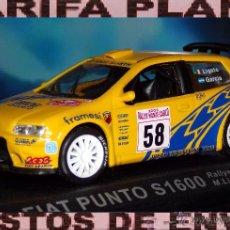 Model Cars - FIAT PUNTO S1600 RALLYE DE MONTECARLO 2003 M.LIGATO - R.GARCIA ESCALA 1:43 DE ALTAYA EN CAJA - 49232434