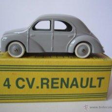 Coches a escala: RENAULT 4 CV MARCA CIJ COCHE METAL MINIATURA REEDICIÓN REF 3/48/00 FRANCE NUEVO .. Lote 49513350