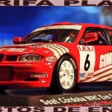 Coches a escala: SEAT CORDOBA WRC EVO2 RALLYE 24 HORAS DE CHAMOIX 2003 YOAN MULLER - EVENS STIEVEHART ESCALA 1:43 DE. Lote 49583746
