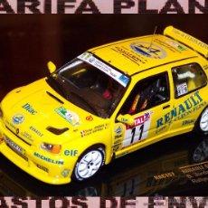 Coches a escala: RENAULT CLIO MAXI RALLYE DU ROUERGUE 1995 S. JORDAN - J. BOYERE ESCALA 1:43 DE IXO EN CAJA. Lote 49827789
