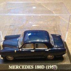 Coches a escala: 1:43 MERCEDES 180D AÑO 1957 IXO ALTAYA MODEL CAR 1/43 MINIATURA. Lote 49905640