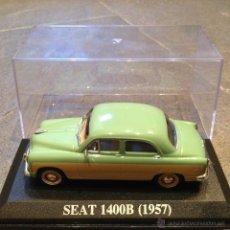 Coches a escala: 1:43 SEAT 1400B AÑO 1957 IXO ALTAYA MODEL CAR 1/43 MINIATURA. Lote 49906775