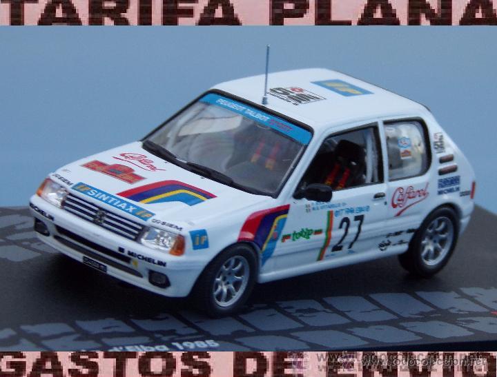 PEUGEOT 205 GTI-RALLY ISOLA D/'ELBA 1985-P.RIVA-M.G.VITTADELLO SCALA 1\43