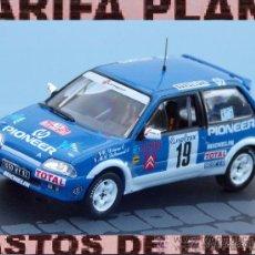 CITROEN AX GTI RALLYE DE MONTECARLO 1993 D.DRIANO - M.C.LALLEMENT ESCALA 1:43 DE ALTAYA EN SU CAJA