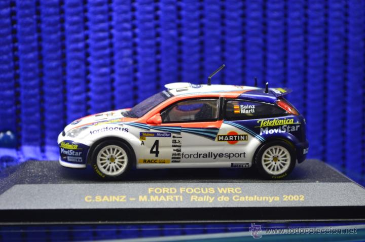Coches a escala: MINIATURA FORD FOCUS WRC, COLECCIÓN RALLY CAR - Foto 1 - 51242356