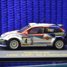 Coches a escala: MINIATURA FORD FOCUS WRC, COLECCIÓN RALLY CAR. Lote 51242356