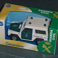 Coches a escala: COCHE MERCEDES G DE GUARDIA CIVIL - CARARAMA 1/43. Lote 51255063