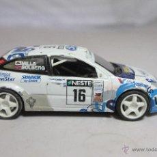 Coches a escala: FORD FOCUS WRC ESCALA 1:43 DE HIGH SPEED TELEFONICA MOVISTAR VALVOLINE. Lote 51373485