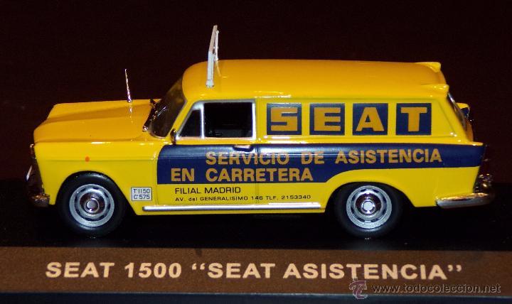Coches a escala: SEAT 1500 ASISTENCIA SEAT ESCALA 1:43 ALTAYA EN CAJA - Foto 2 - 51606826