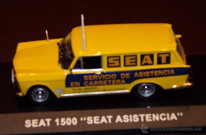Coches a escala: SEAT 1500 ASISTENCIA SEAT ESCALA 1:43 ALTAYA EN CAJA - Foto 5 - 51606826
