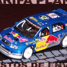 Coches a escala: SKODA FABIA WRC RALLYE DE MONTECARLO 2006 G. PANIZZI - H.PANIZZI ESCALA 1:43 ALTAYA EN CAJA. Lote 52163555